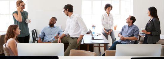 Was sind die Vor- und Nachteile des Flex Office?