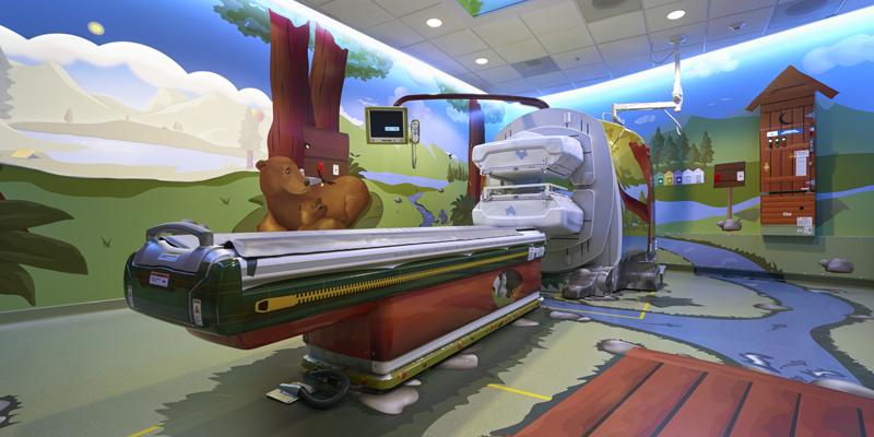 A GE Healthcare MRI scanner