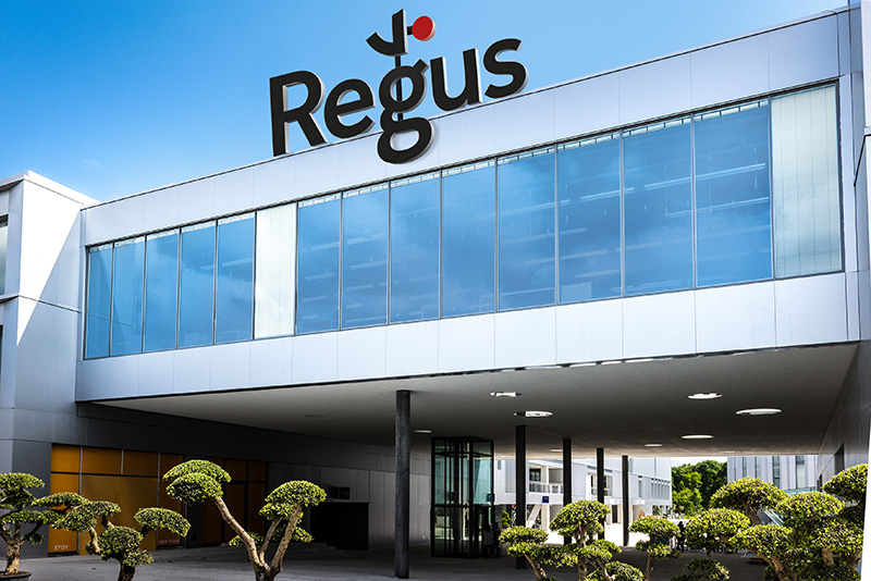 Regus, Swiss village of Etoy