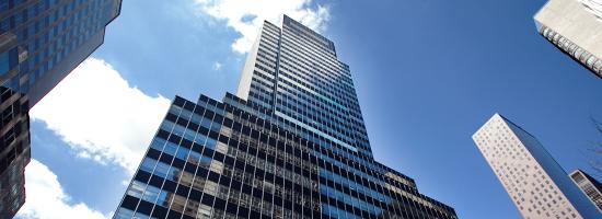 Exterior shot of Regus 600 Third Avenue, New York