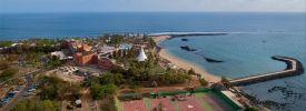 A beach view of Senegal